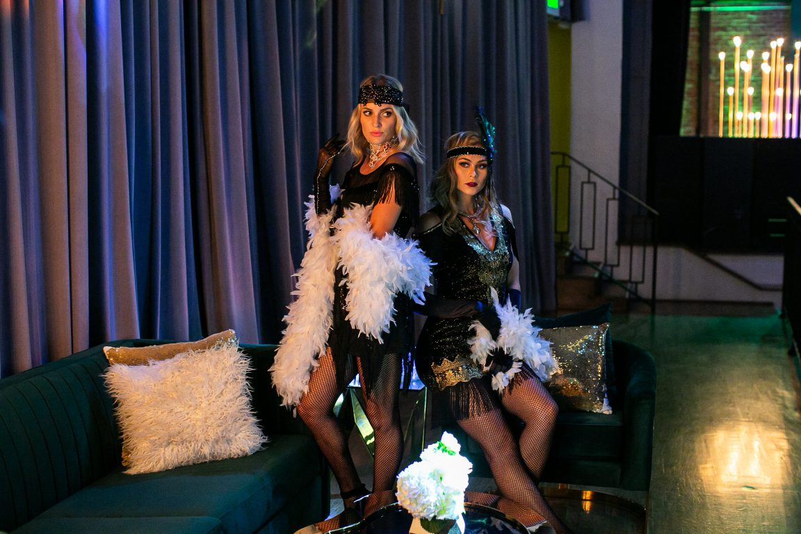 roaring twenties, glam party, glam event